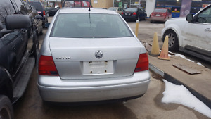 Must see clean.... 2000 vw jetta $2000 as is O.B.O