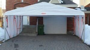 Double Car Shelter - Tempo