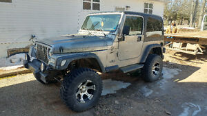 2001 Jeep TJ Coupe (2 door)