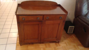 Antique 19th century pie safe/side board/jelly cupboard