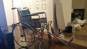 Chaise roulante Vintage