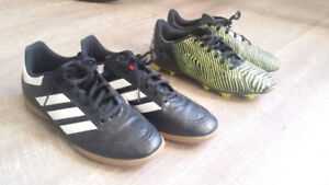 Boy's ADIDAS soccer cleats size 6 & 7