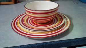Dishes - 4 place settings