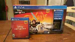 Like New PS4 DISNEY Infinty Star Wars Saga Bundle 3.0 Edition
