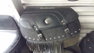 INDIAN CHEIF LEATHER SADDLEBAGS