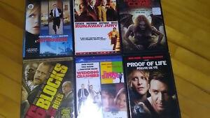 dvds a vendre et 5  gratuits