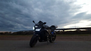 2008 CBR600RR Blacked Out Graffiti Edition + Extras!