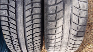 WINTER TIRES   225/45/r17     ($265 = SET OF 4TIRES )
