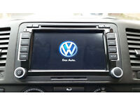 Brand New VW SAT NAV Android Bluetooth Car Stereo DVD Golf MK5 MK6 Transporter T5 T28 T30 Polo R32
