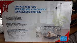 cage a chien neuve