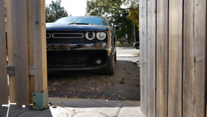 Dodge Challenger R/T air deflector lip