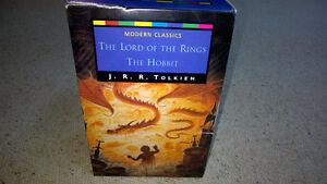 The Lord of The Rings - box set of 4 - never read