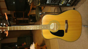 Fender Left Handed Acoustic Kawartha Lakes Peterborough Area image 1