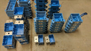 CONTRACTOR JOB LOT:   65 Electrical Boxes  -   Value $140