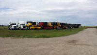 4 Used combines for sale, Class, New holland and case