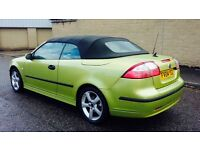 2004 Saab 9-3 2.0 T Vector 2dr Convertible White Leather Pack Swap P.x Welcome
