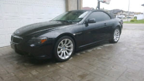 BMW 650i convertible! Clean! Low kms!