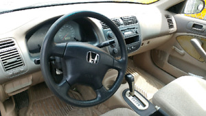 2001 Honda Civic Dx !!!!!!! LOWKMS!!!!! AS IS