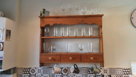 Plate or mug rack welsh dresser style