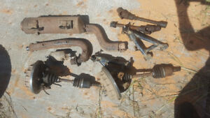 Some parts left from a 95 honda foreman 400