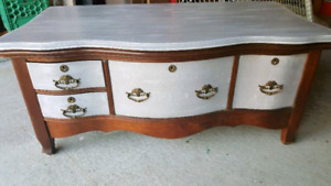 Antique hall dresser / perfect tv stand