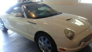 2002 Ford Thunderbird delux Convertible