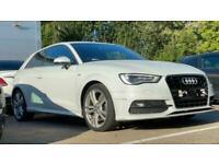 2013 Audi A3 2.0 TDI S Line 3dr S Tronic Auto Hatchback diesel Automatic