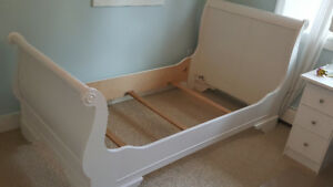Twin Sleigh Bed Frames - Headboards, Footboards and Rails