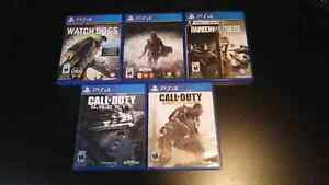 Ps4 games for sale. London Ontario image 1