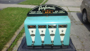 Vintage  Arcade Coin Operated  Vending Machine Man Cave
