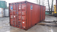 20' Shipping Container Blow Out Sale