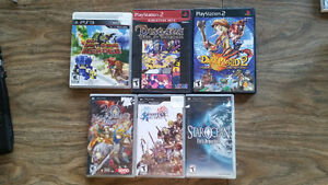 Sony Games (PS2, PS3, PSP)