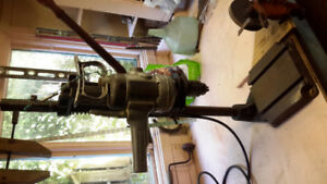 Stanley drill press - vintage