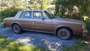 1986 cutlass supreme for sale