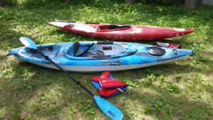 2 Kayaks for Rent
