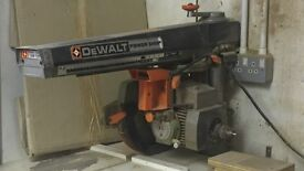 Dewalt cross cut saw model 125 only £250