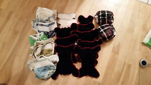Newborn cloth diapers and covers