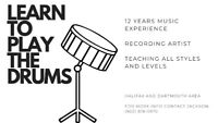 Drum Lessons- All Ages, Levels, and Styles (Halifax/Darmouth)