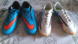 GIRLS SOCCER CLEATS SIZE 3 & 3.5 ~ $20.00 FOR BOTH PAIRS