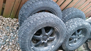 20 inch Chevy Truck rims and tires