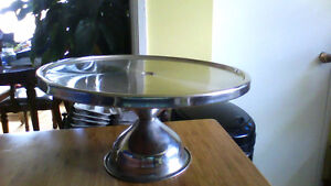 12 inch pizza/pie stainless stand