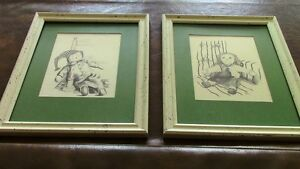 Nursery Sketches: Raggedy Ann and Andy, Peter Etril Snyder Kitchener / Waterloo Kitchener Area image 1