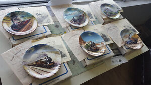 Collectible Train Plates
