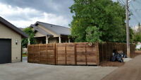 FENCE AND DECK REPLACEMENT