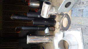 Wood stove pipe/materials