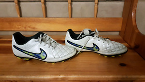 Soccer cleats and indoor soccer shoes