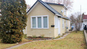 This 2 bedroom, 1 ½ storey home is ready for a new young family