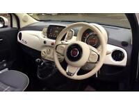 2016 Fiat 500 1.2 Lounge 2dr (Start Stop) Manual Petrol Convertible