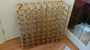 72 bottle wine bottle rack(750 ml. And 1 litre)