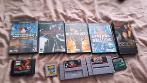 Various Games and movies for sale